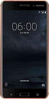 هاتف نوكيا 6 بذاكرة داخلية 32 جيجا وذاكرة رام بسعة 3 جيجا، الجيل الرابع ال تي اي، لون نحاسي
