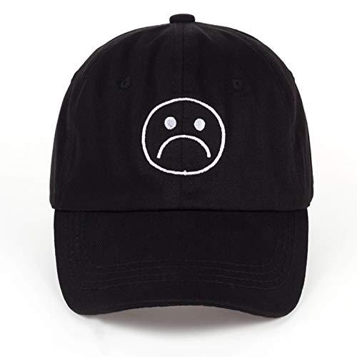 QiuFeng Gorras Gorras de Hombre Sombrero Ajustable para niños tristes, Gorra de...