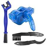 JTENG - Kit de limpieza de cadenas de bicicleta - Limpiador de cadenas de bicicleta - Herramienta de limpieza de cadenas - Maintenance - Adecuado para todo tipo de bicicletas