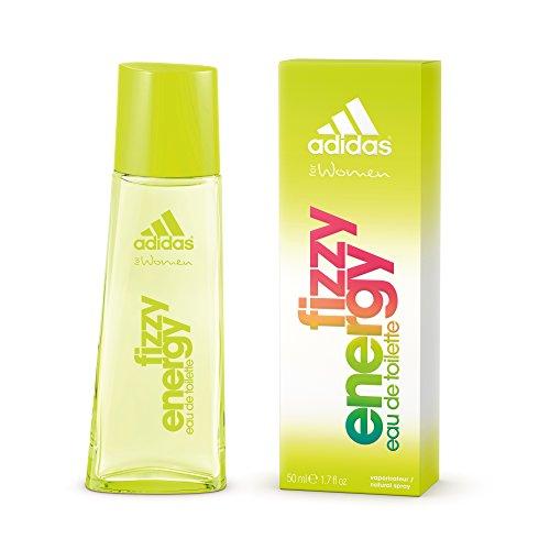 adidas Fizzy Energy Eau de Toilette – Blumiger & frischer Sommerduft für Damen – Langanhaltendes Parfüm für sportliche Frauen – 1 x 50 ml