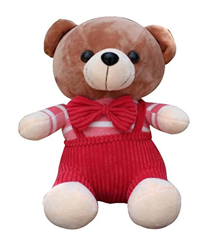 Dragon Troops Lovely Pet Doll Poupées pour Enfants 'Poupée Jouets Peluches-Red Bear Pattern