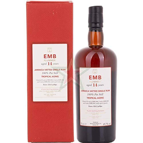 Habitation Velier SVM EMB PLUMMER 14 Years Old TROPICAL AGING Vatted Single Rum (1 x 0.7 l)