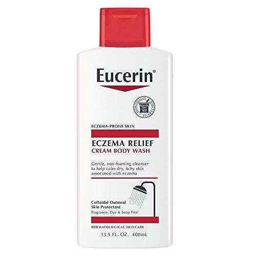 Eucerin Eczema Relief Cream Body Wash Gentle Cleanser for Eczema-prone Skin, 13.5 Fl Oz