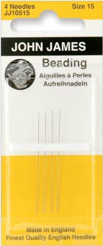 Darice Beading Hand Needles-Size 15 4/Pkg