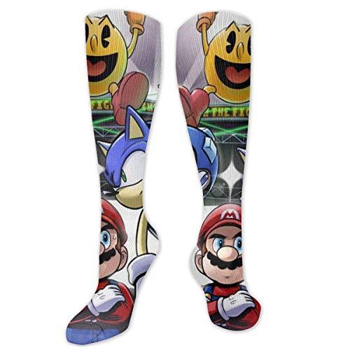 185 Unisex Socks,Japan Tv Go-Dz-Illa Monster Compression Calcetines, Calcetines Decorativos Unisex De Moda Para Senderismo Gimnasio,50cm