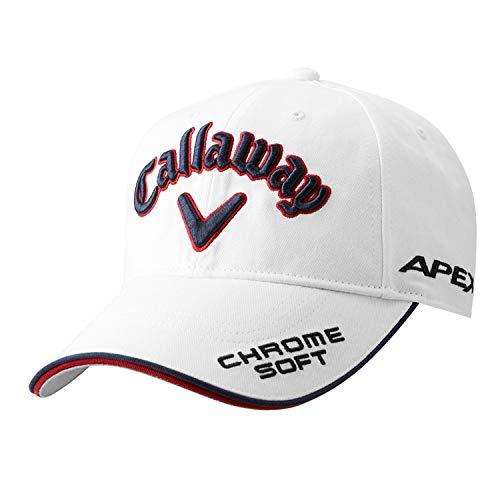Callaway Gorra de Golf (Tour, Tour American Mesh) (Tour, White/Navy)