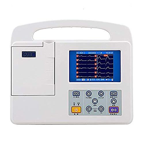 WSN Monitor portátil de ECG/EKG, Electrocardiógrafo ECG Machine EKG Machine Heart Monitor, para médicos,A