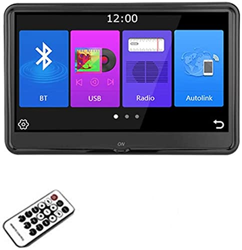 Pantalla Reproductor de Video para reposacabezas de Coche, Monitor de Montaje de reposacabezas de Coche Universal, Monitor de TV Android 6.0 Pantalla táctil capacitiva para Tableta