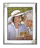 El Faro Marco Fotos Personalizado 50 Aniversario 13x18 Bodas Oro Plata bilaminada