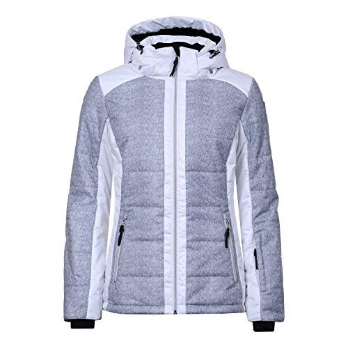 Icepeak VENLA Damen Skijacke in Light Grey, Gr. 38
