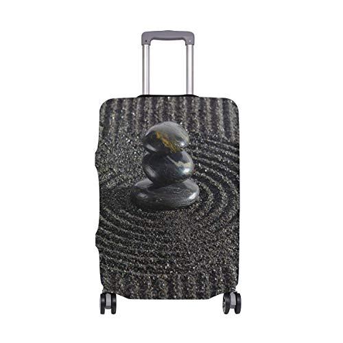 Zen Garden Piedras apiladas en Arena rastrillada Travel Travelers Choice Equipaje con Ruedas giratorias Maleta de Equipaje de 24 Pulgadas