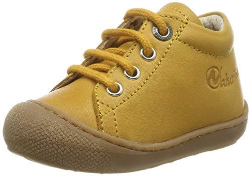 Naturino Chłopcy uniseks dziecięce buty gimnastyczne Cocoon, żółty - Żółty Zucca 0 g05-26 EU