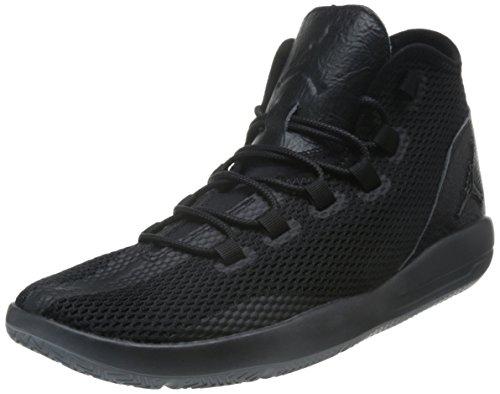 Nike Herren Jordan Reveal Basketballschuhe, Black Schwarz Schwarz Schwarz Wolf Grau, 40 EU