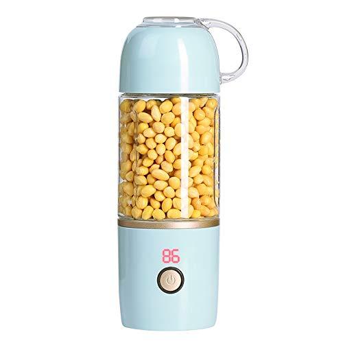 INTER FAST Exprimidor portátil de frutas para el hogar con carga pequeña mini freidora eléctrica (color: azul)