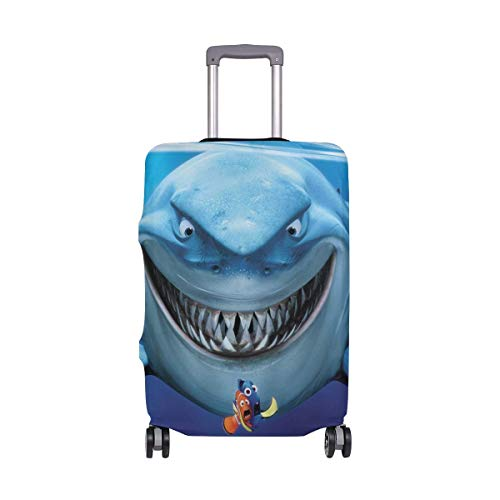 Finding Nemo Shark Travel Luggage Cover Suitcase Protector Washable Baggage Covers