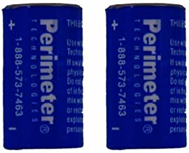 Perimeter Technologies Two Pack Perimeter Pet Fencing Dog Collar Batteries by (2-Pack)