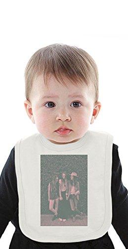 Haim Vintage Organic Baby Bib With Ties Medium