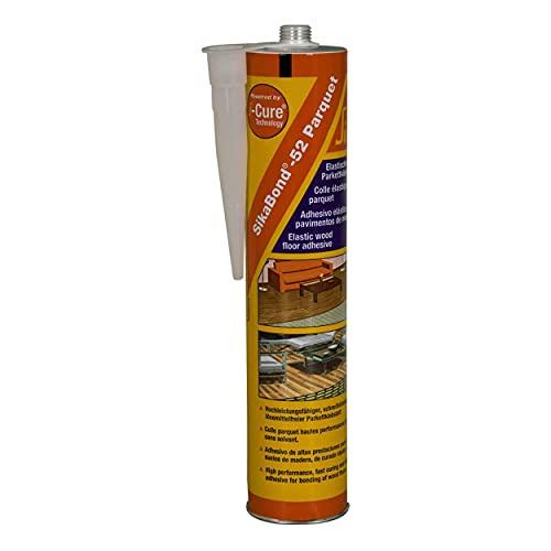 Colla per il collage di parquet per cavo–sikabond-52Parquet–300ml–marrone