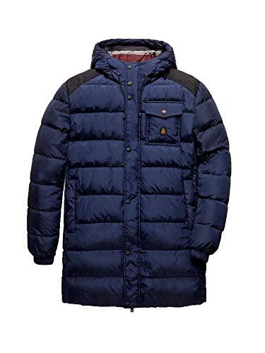 RefrigiWear Long Hunter Jacket Giacca Sportiva, Blu (Dark Blue F03700), Small (Taglia Produttore:S) Uomo