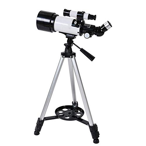RVTYR Teleskop-Teleskope for Erwachsene und Kinder können in High-Definition Lunar Krater Travel Scope Be Seen Auriol fernglas (Color : White, Size : 63x12.5x21cm)