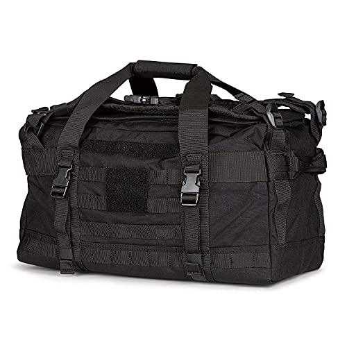5.11 Tactical RUSH LBD Mike Backpack Multipurpose Duffle Bag 40L, Black, Style 56293