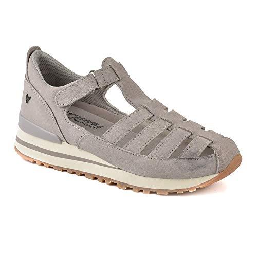 Zapatilla Sneaker Yumas Melania IBORI Fabricado en Piel Vuelta Plantilla Confort Látex para Mujer