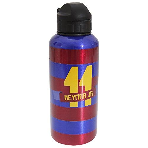 Alusport Bottles FCB Neymar Modelo I Botella Deportiva de Aluminio, Hombre, Rayado, 0.4 l