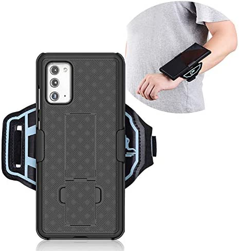 igooke Sports Armband Wristband Case for Samsung Galaxy Note 20 Hybrid Hard Case Cover with product image
