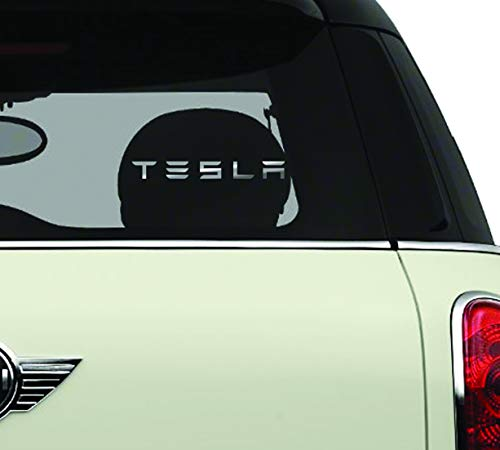 Tesla Automotive Brands Automotive Decal/Bumper Sticker
