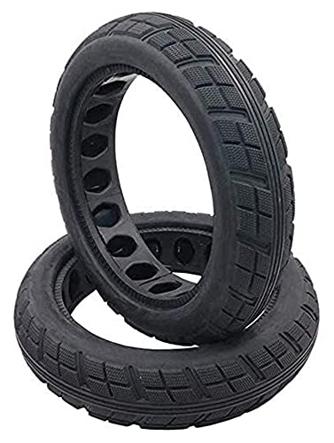 HMHMVM Electric Scooter Tires, 8 1-2x2 Explosion-Proof Solid Tires, Inner Honeycomb Shock Absorption, Non-Slip Pattern tyre