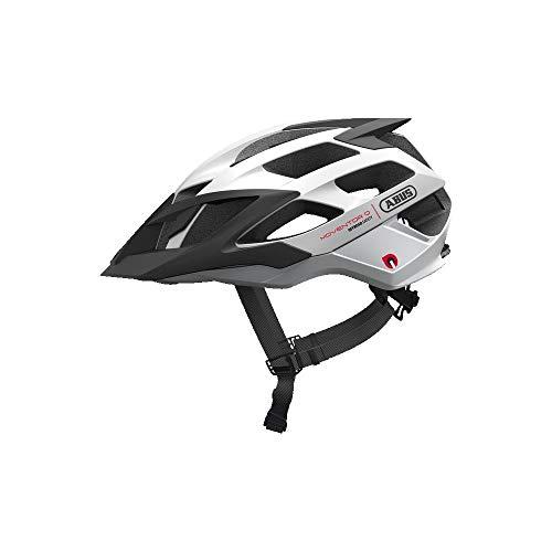 ABUS Unisex-Erwachsene MOVENTOR Quin Mountainbike-Helm, neon yellow, M