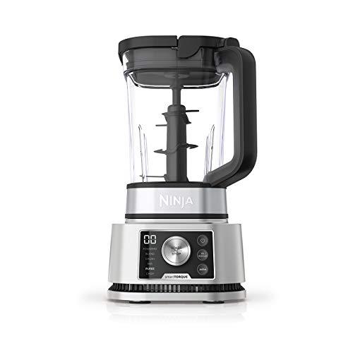 Batidora Ninja Foodi Power Nutri, 3 en 1; jarra de 2,1 l, vaso de 700 ml y bol de 400 ml, motor Smart Torque de 1200 W y tecnología Auto-iQ [CB350EU]