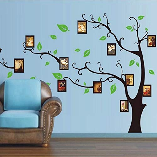 Stickers adhésifs Arbres   Sticker Autocollant Arbre porte-cadres - Décoration murale chambres et séjours   90 x 60 cm