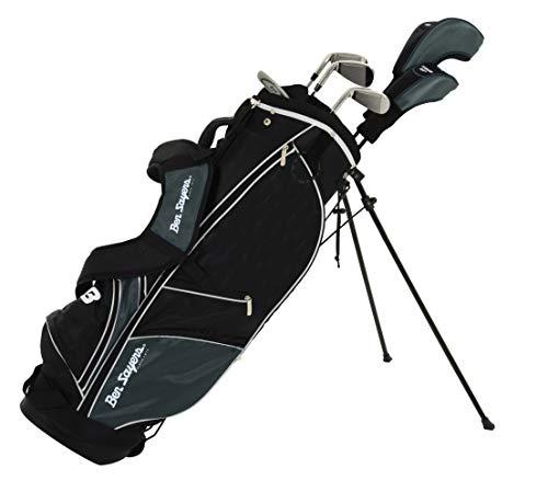 Ben Sayers M8 Ensemble de Golf pour Homme Noir 6 Clubs