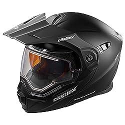 Castle X  Electric Modular Snowmobile Helmet