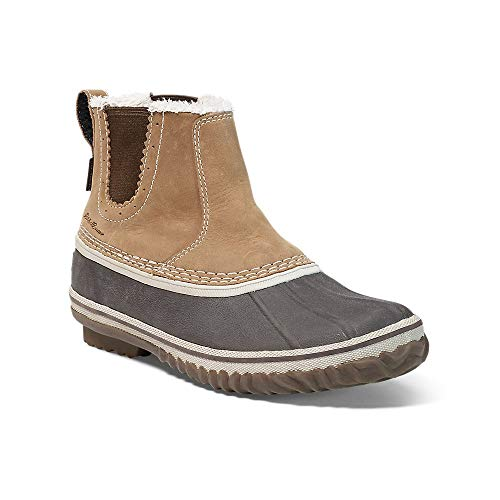 Eddie Bauer Women's Hunt Pac Slip-On, Wheat Regular 9M