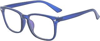 Kelens Stylish Square Non-prescription Eyeglasses Glasses Clear Lens Eyewear for Men and Women