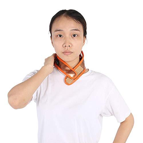 Salmue Elektrische Nekband Verwarming Nek Buiten Vibratie Vibrerende Massage Cervicale Vertebra Rughals Collar, USB Opladen Verstelbaar