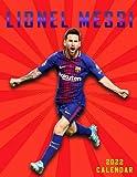 """Messi 2022 Calendar: SPORT Calendar 2022-2023 – 18 months – BIG SIZE 17""""x11"""". Planner for all fans kids boys - Messi Calendar 2022 - Football Calendar 2022 - Soccer Calendar 2022"""