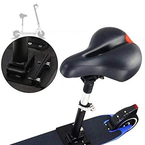 globalqi Elektro-Skateboard-Sattel für Xiaomi Mijia M365 Elektroroller, faltbar, höhenverstellbar, abnehmbar, Sitz stoßdämpfend, bequem, Klappstuhl, Sitz, E-Roller-Zubehör