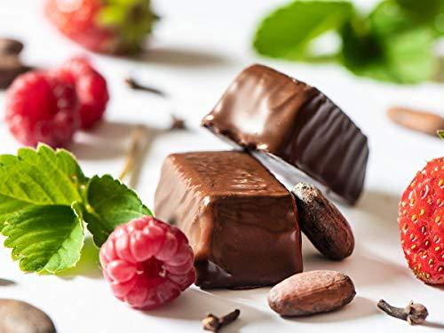 Swiss-QUBE Diätriegel - Gewichtskontrolle | Abnehmen ohne zu Hungern auf natürlicher Basis | Geschmack Loro | 56 Swiss-Qubes - Wochenration
