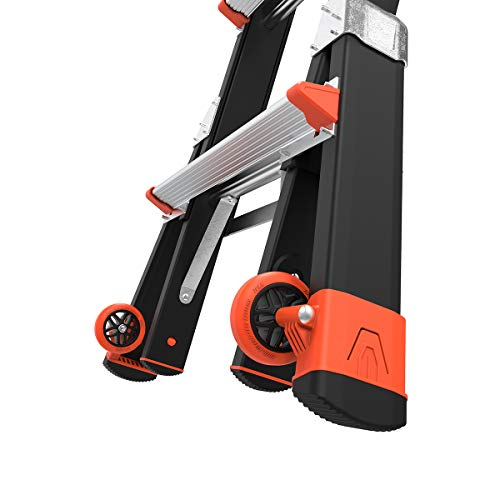 Little Giant Ladders, Select Step, 5-8 foot, Stepladder, Fiberglass, Type 1AA, 375 lbs weight rating, (15130-001)