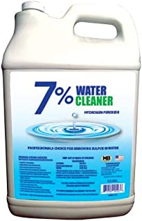 WATER CLEANER 7% PEROXIDE 5 GALLON CASE WITH 2 (2-1/2) GALLON JUGS