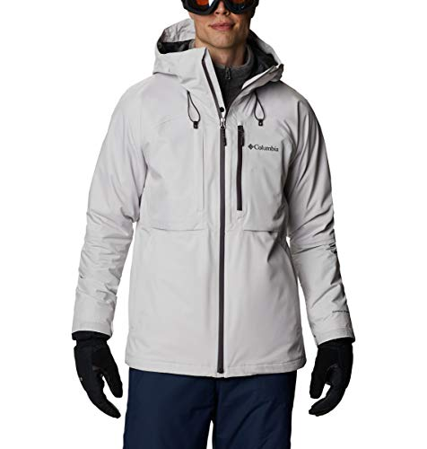 Columbia Men's Banked Run Jacket, Nimbus Grey, Large