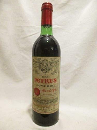 pomerol petrus grand vin (b2) rouge 1980 - bordeaux