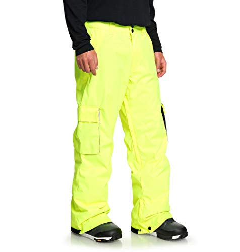 DC Shoes Banshee, Pantaloni da Sci/Snowboard Uomo, Safety Yellow, L
