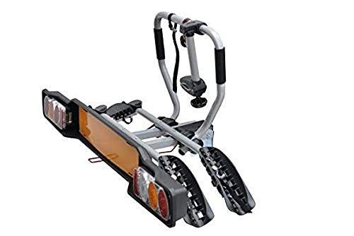 Peruzzo 668 Portabicicletas de enganche de remolque, capacidad para 2 bicicletas