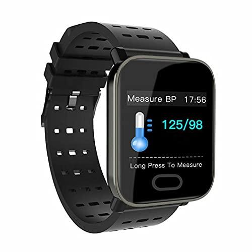 BBDA Pulsera Inteligente Life Waterproof A6, monitorización del sueño, Pulsera de liberación rápida, Punta de Mensaje, Espera Ultra Larga