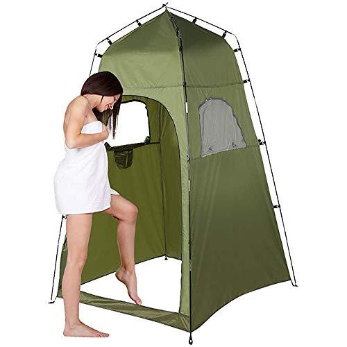 YFY Tienda de baño de Camping al Aire Libre, Tienda de campaña Independiente portátil, Ducha de Playa Refugio de privacidad, vestidor de Pesca al Aire Libre