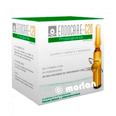 Endocare C20 Proteoglicanos - Paquete de 30 ampollas x 2 ml - Total: 60 ml